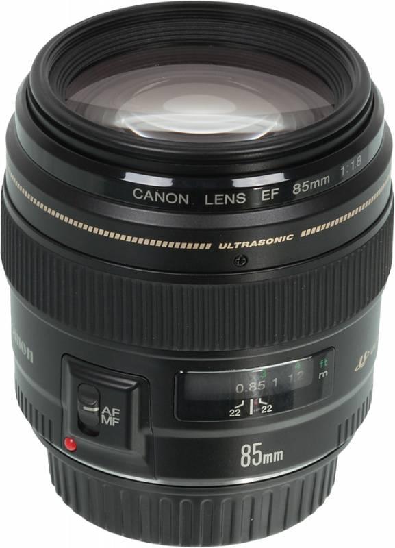 Объектив Canon EF USM 85mm f/1.8 (2519A012) - фото 1