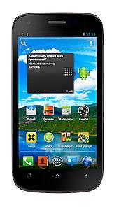 Смартфон Fly Trend IQ443 4ГБ черный - фото 1