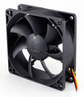 Вентилятор Glacialtech GT8025-LWD0B, размер 80x80x25мм (CF-8025WED0AB1031)