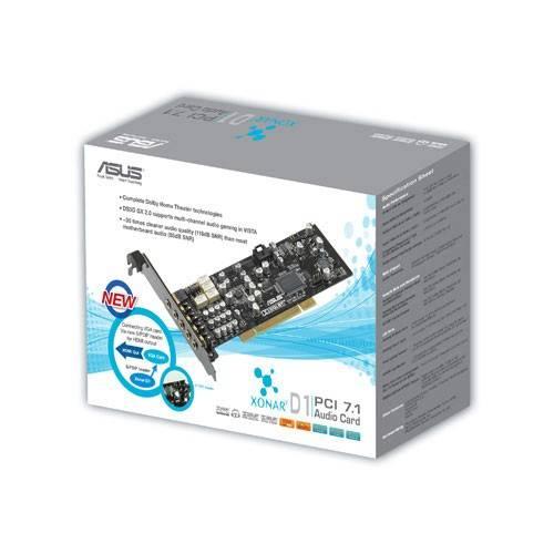 Звуковая карта PCI ASUS Xonar D1 - фото 3