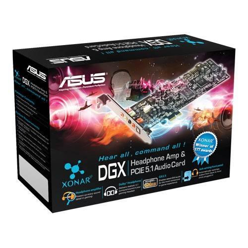 Звуковая карта PCI-E Asus Xonar DGX 5.1 Ret - фото 3