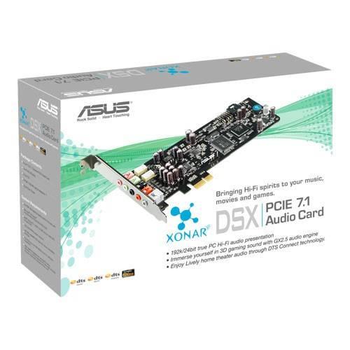 Звуковая карта PCI-E Asus Xonar DSX 7.1 Ret - фото 3
