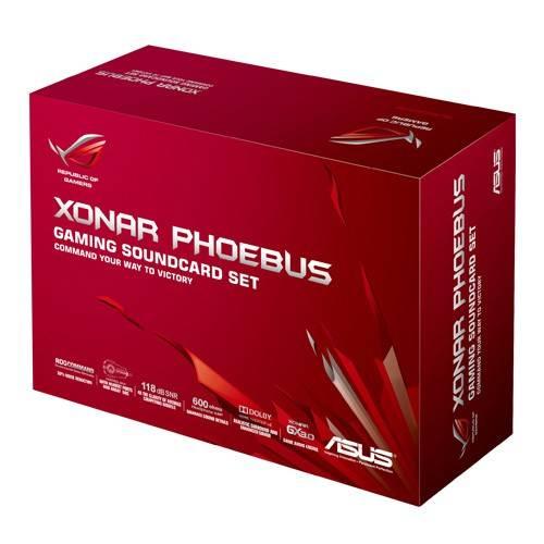 Звуковая карта PCI-E ASUS ROG Xonar Phoebus - фото 5