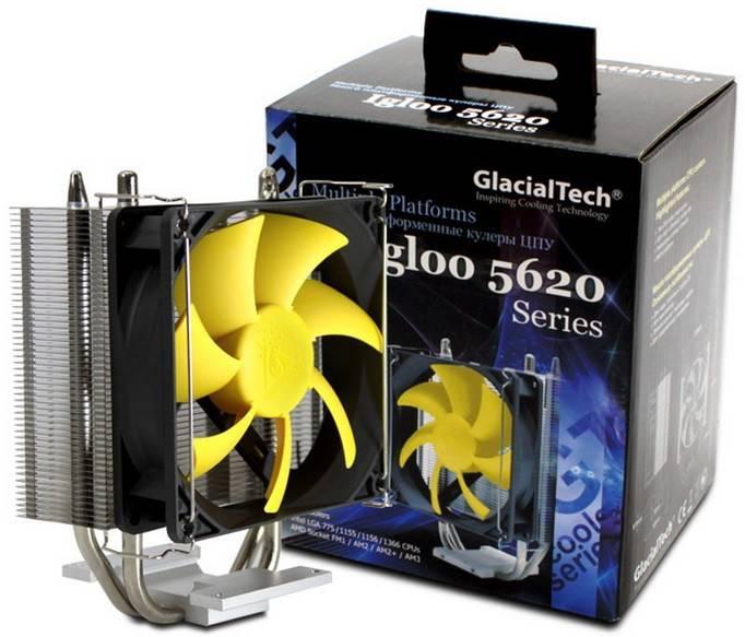 Устройство охлаждения(кулер) Glacialtech Igloo 5620 Silent Ret - фото 5