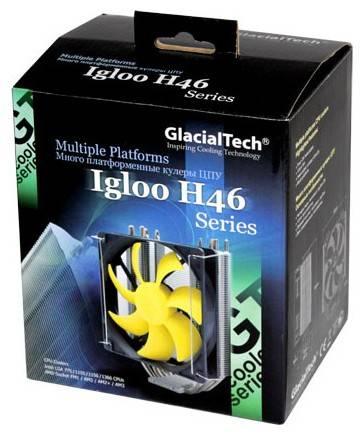 Устройство охлаждения(кулер) Glacialtech Igloo H46 Silent Ret - фото 5