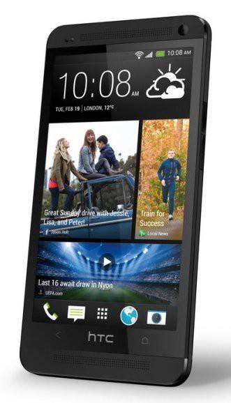Смартфон HTC One Dual Sim черный - фото 1
