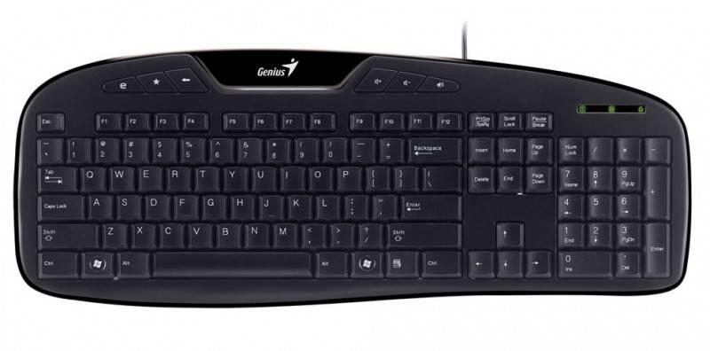 Клавиатура Genius KB-M205 черный - фото 1