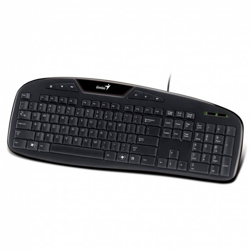 Клавиатура Genius KB-M205 черный - фото 2