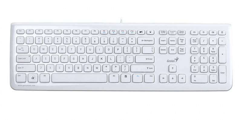 Клавиатура Genius SlimStar i220 белый - фото 1