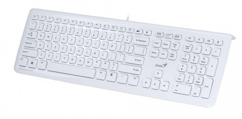 Клавиатура Genius SlimStar i220 белый - фото 2