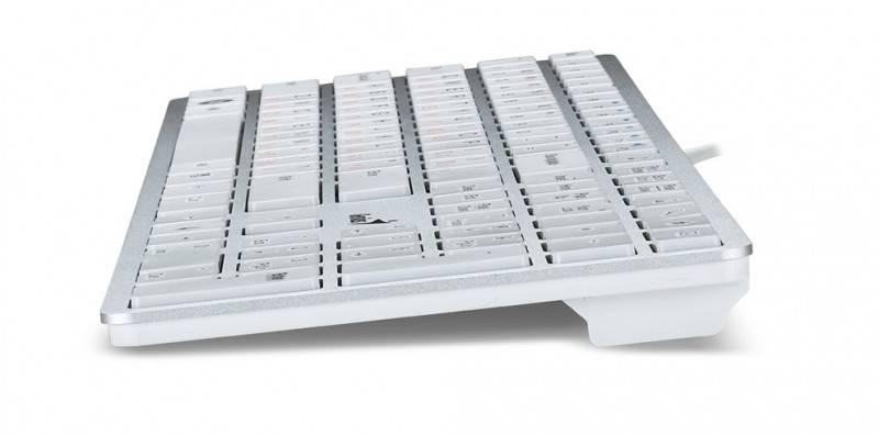 Клавиатура Genius SlimStar i280 серебристый - фото 2