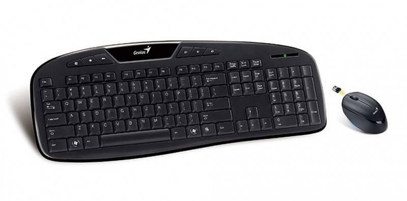 Комплект клавиатура+мышь Genius KB-8005 черный/черный - фото 1
