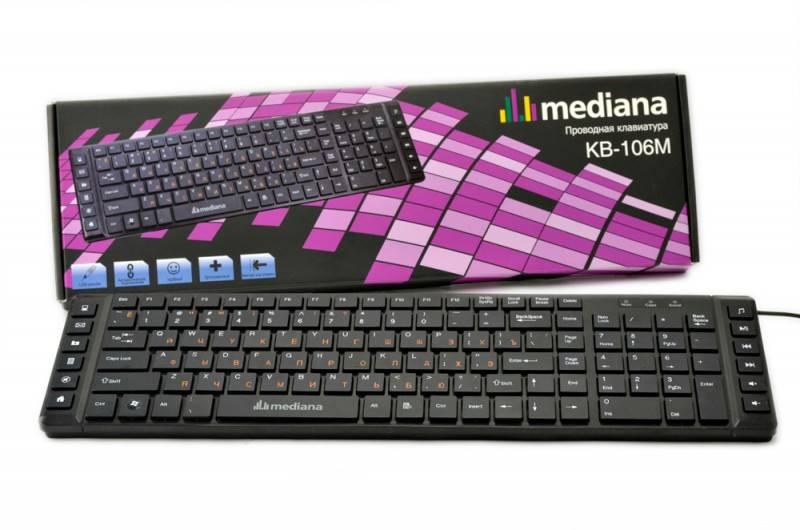 Клавиатура Mediana KB-106M - фото 1