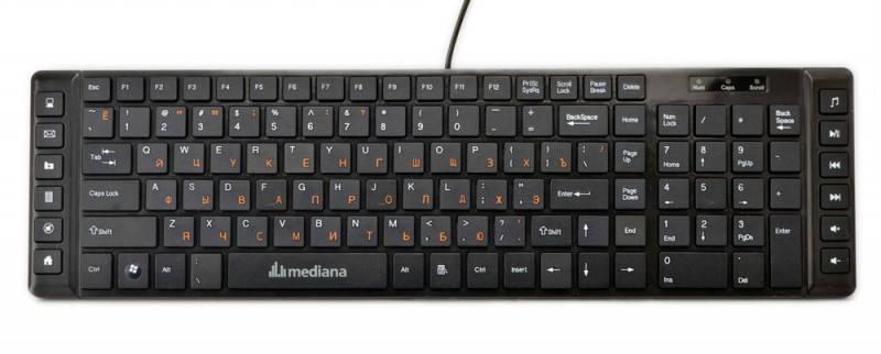 Клавиатура Mediana KB-106M - фото 3