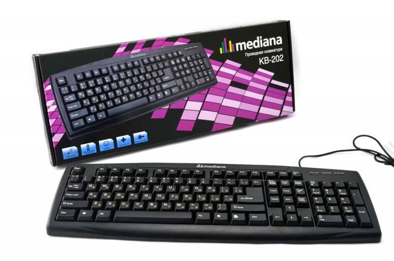 Клавиатура Mediana KB-202 - фото 1
