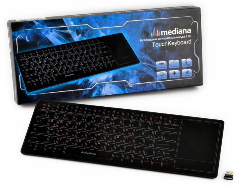Сенсорная панель Mediana Touch черный - фото 3