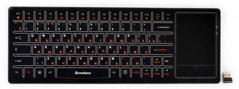 Сенсорная панель Mediana Touch черный - фото 1