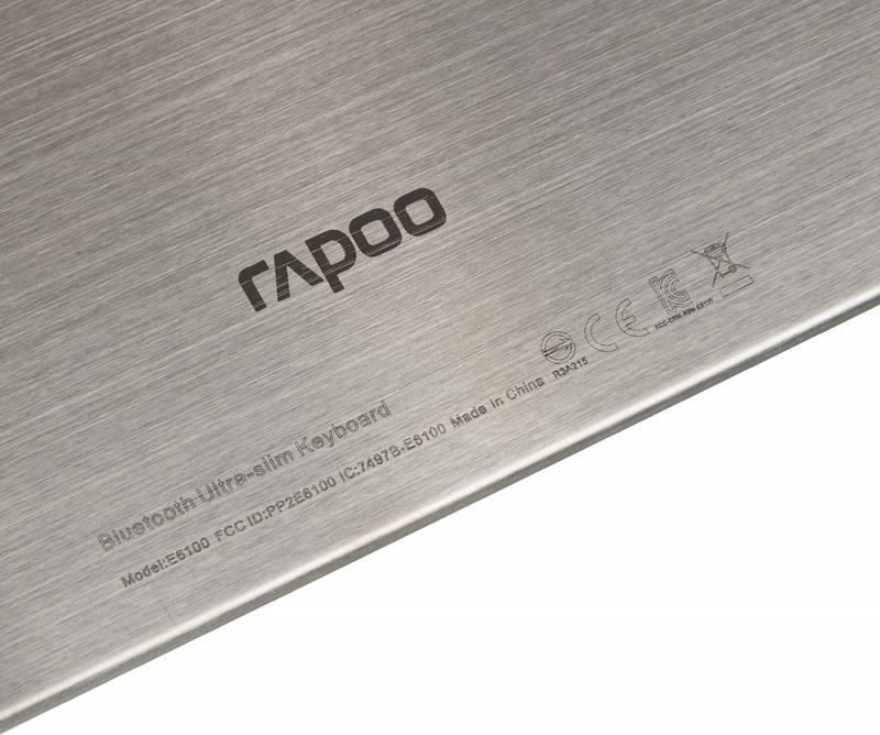 Клавиатура Rapoo E6100 белый - фото 9