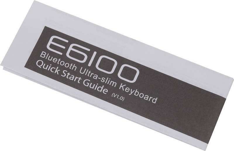 Клавиатура Rapoo E6100 белый - фото 10