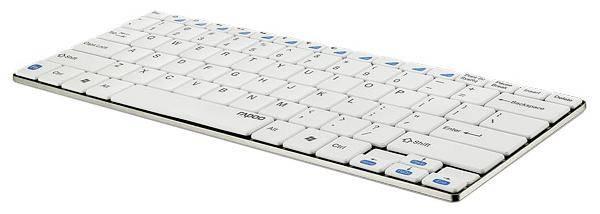 Клавиатура Rapoo E6100 белый - фото 2