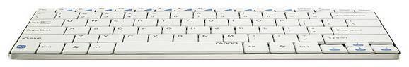 Клавиатура Rapoo E6100 белый - фото 3