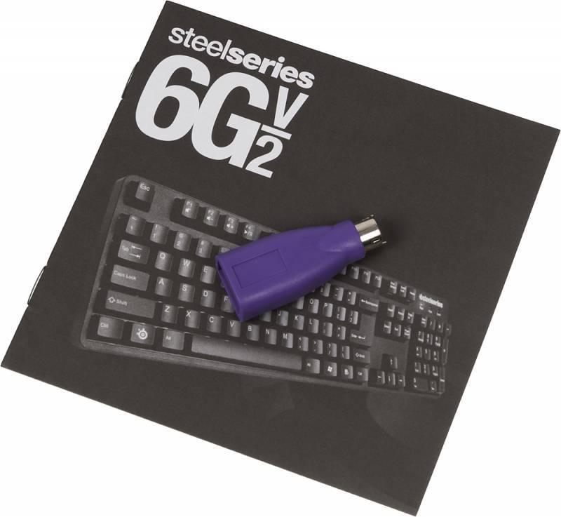 Клавиатура Steelseries 6G v2 черный - фото 12