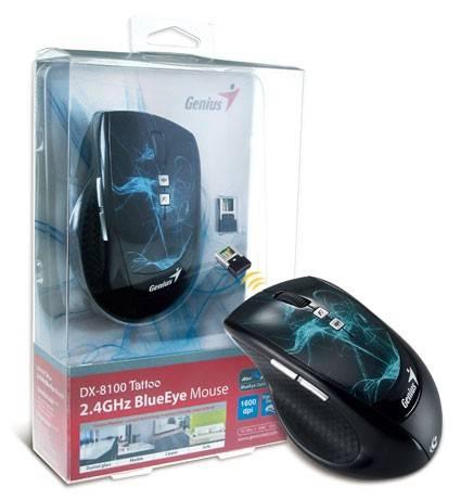 Мышь Genius DX-8100 черный/Tattoo - фото 3