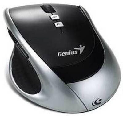 Мышь Genius DX-8100 серебристый/черный - фото 2