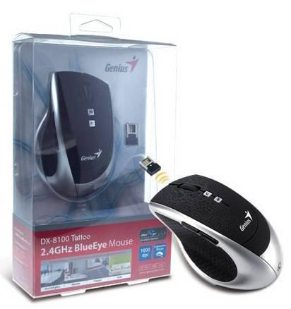 Мышь Genius DX-8100 серебристый/черный - фото 3