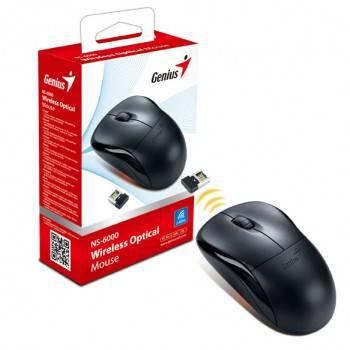 Мышь Genius NS-6000 белый / зеленый