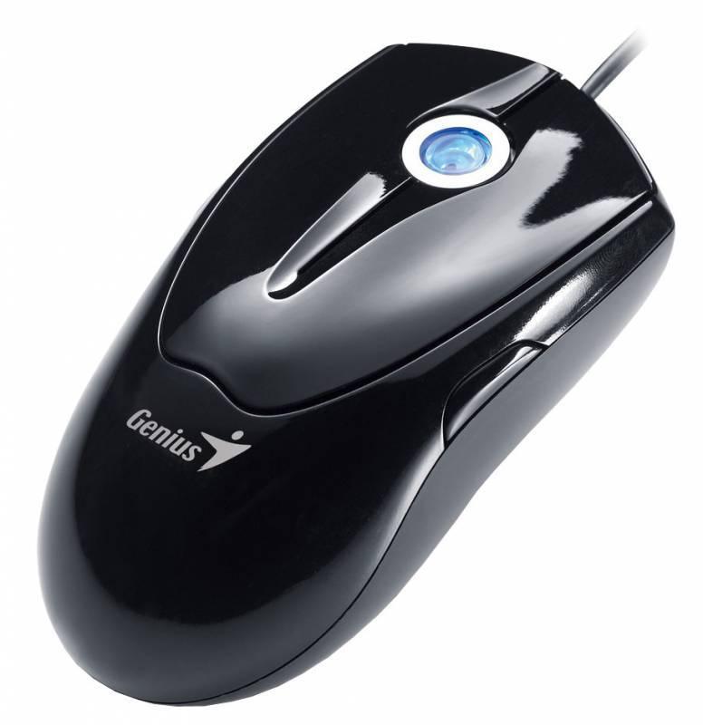 Мышь Genius NetScroll T220 черный - фото 3