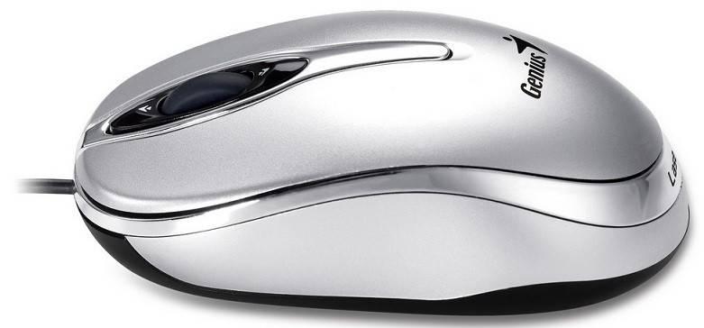 Мышь Genius Traveler 320 серебристый - фото 4