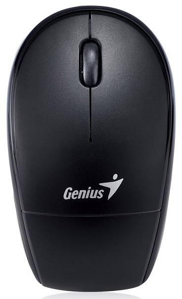 Мышь Genius Traveler 9000LS черный/синий - фото 1