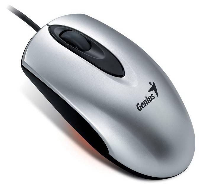 Мышь Genius Traveler 100 серебристый - фото 1