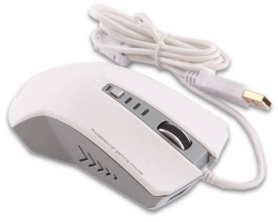 Мышь Mediana GM-611 белый - фото 1