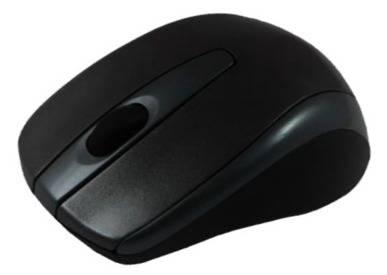 Мышь Mediana M-WGM-81BU черный - фото 1
