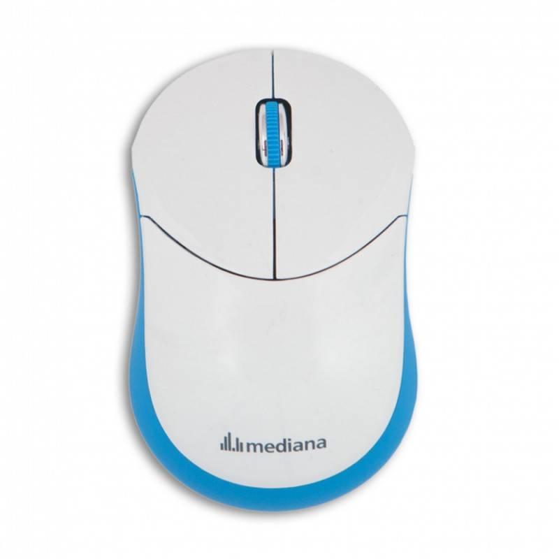 Мышь Mediana WM-332 белый/красный - фото 2
