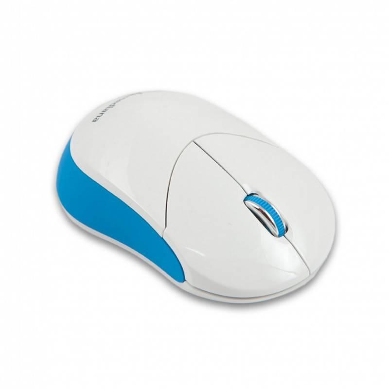 Мышь Mediana WM-332 белый/красный - фото 3