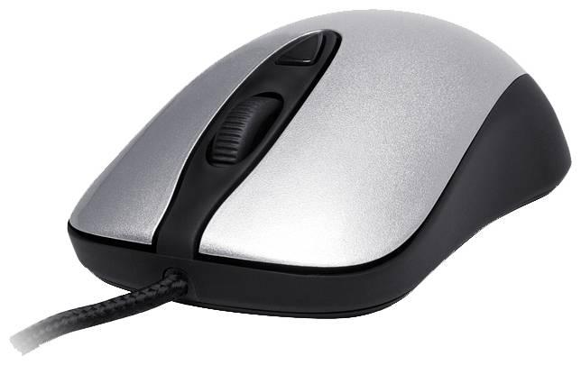 Мышь Steelseries Kinzu v2 Pro серебристый/черный - фото 1