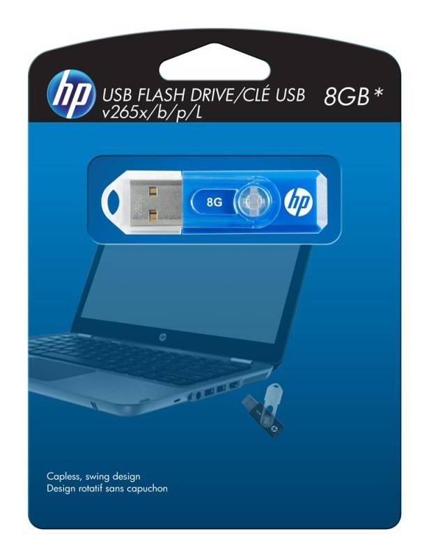 Флеш диск HP 265X 16ГБ USB2.0 черный - фото 4