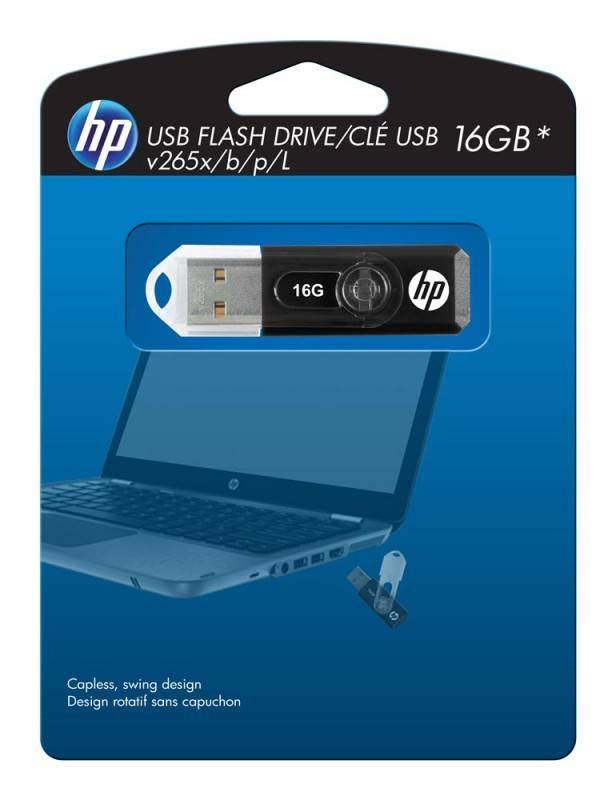 Флеш диск HP 265X 16ГБ USB2.0 черный - фото 5