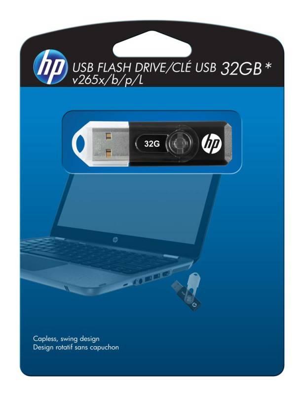 Флеш диск HP 265X 16ГБ USB2.0 черный - фото 6