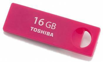 Флеш диск 16Gb Toshiba TransMemory Enshu USB2.0 красный