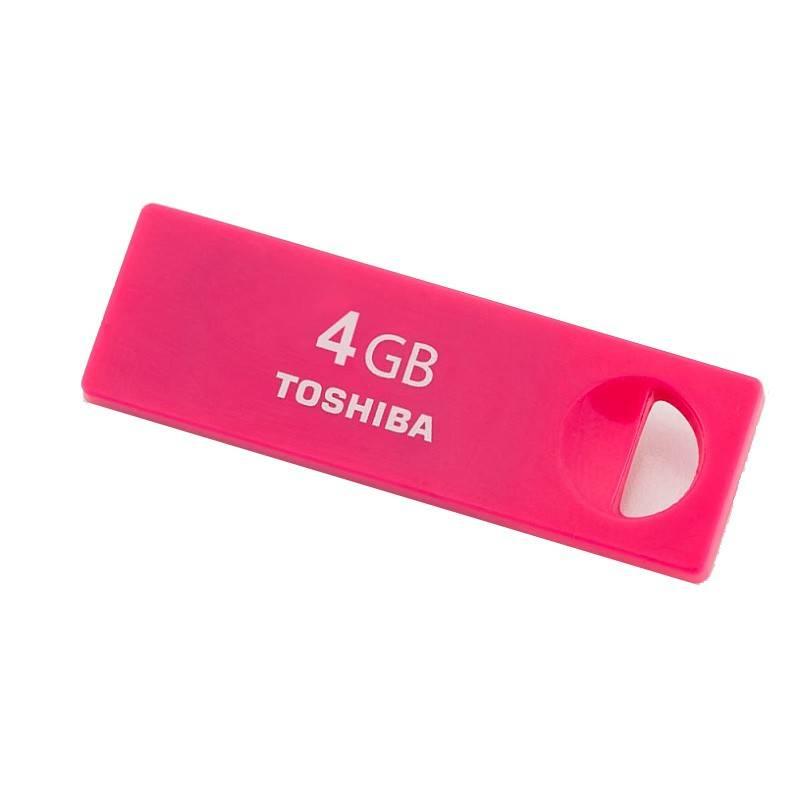 Флеш диск 16Gb Toshiba TransMemory Enshu USB2.0 красный - фото 2