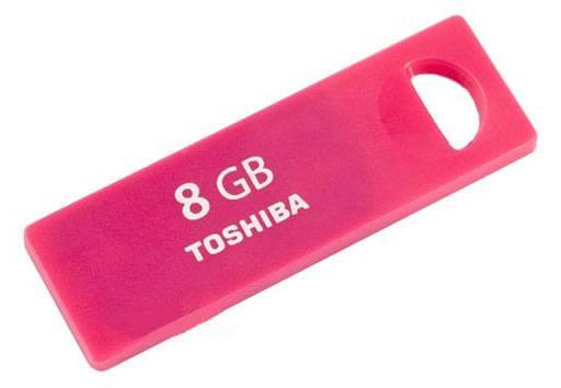 Флеш диск Toshiba TransMemory Enshu 8ГБ USB2.0 красный - фото 1