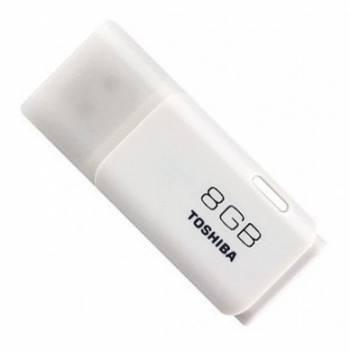 Флеш диск Toshiba TransMemory Hayabusa 8ГБ USB2.0 белый
