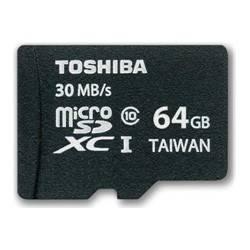 Карта памяти microSDXC 64Gb Class10 Toshiba SD-C064UHS1(6A