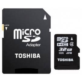 Карта памяти microSDHC 32Gb Class4 Toshiba SD-C32GJ(6A