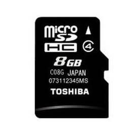 Карта памяти microSDHC 8Gb Class4 Toshiba M102 THN-M102K0080M2
