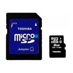 Карта памяти microSDHC 8Gb Class4 Toshiba SDU8GSDHC4M102M4TR